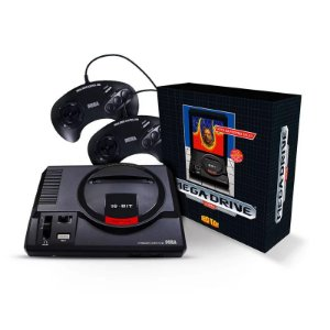 VIDEO GAME TECTOY MEGA DRIVE 2 JOYSTICKS EXPANSIVEL 594 JOGOS 2 CONTROLES