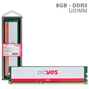 MEMORIA P/ DESKTOP PCYES 8GB DDR3 1600MHZ PM081600D3