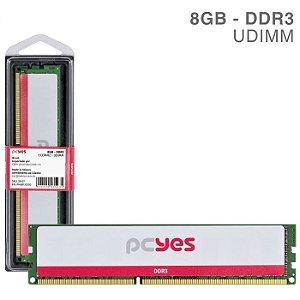 MEMORIA P/ DESKTOP PCYES 8GB DDR3 1333MHZ PM081333D3