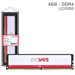 MEMORIA P/ DESKTOP PCYES 4GB DDR4 2666MHz PM042666D4
