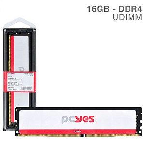 MEMORIA P/ DESKTOP PCYES 16GB DDR4 2666MHz PM162666D4