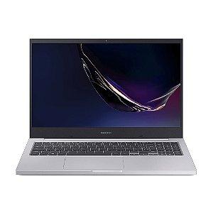 NOTEBOOK SAMSUNG BOOK NP550 X45 CORE I5-10210U WIN 10 HOME 8GB SSD 256GB PLACA DE VIDEO 2GB 15.6P PRATA
