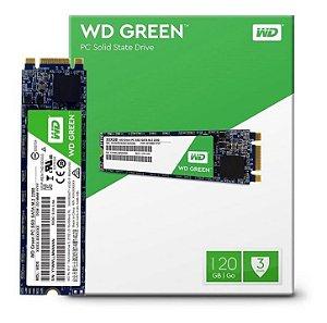 DISCO INTERNO SSD WD GREEN M.2 120GB SATA 3.0 WDS120G2G0B 545MB/s