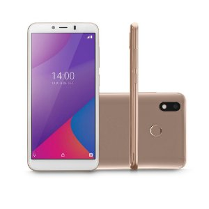 SMARTPHONE MULTILASER G MAX 32GB 6.0POL ANDROID 9.0 DOURADO