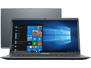 NOTEBOOK POSITIVO C4128E INTEL CELERON DUAL CORE 4GB SSD 128GB 14.1P  WINDOWS 10 HOME CINZA