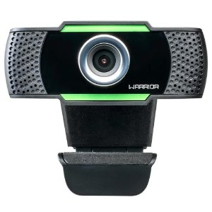 WEBCAM WARRIOR MAEVE AC340 C/ MICROFONE USB FULL HD 1080 PRETO