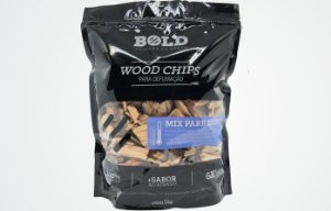 Wood Chips para Defumação Mix Parrillero - Bold