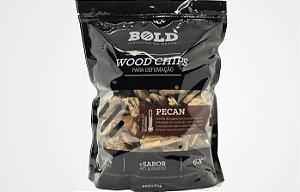 Wood Chips para Defumação Pecan - Bold