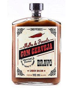 Molho de Pimenta com Cerveja Backer – Bravo (Sabor Bacon)  - Chef'n Boss