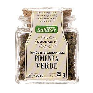Pimenta Verde em Grão Sabater - 25grs