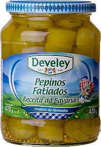 Conserva Pepino Fatiado Develey - 420grs