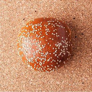 Pão Brioche com Gergelim para Burguer - Pcte 4 pães - Casa do Padeiro