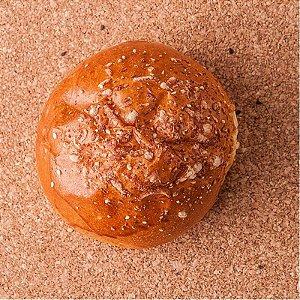 Pão Brioche com Parmesão para Burguer - Pcte 4 pães - Casa do Padeiro