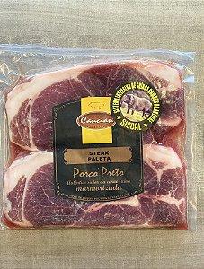 Steak da Paleta (corte fino) de Porco Preto - Cancian