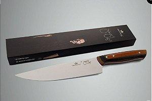 Faca Chef Jimmy Ogro 205 Micarta Especial - Imperial Cutelaria