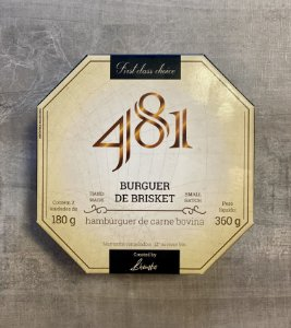 Burguer Brisket 180grs (2 unidades) - 481