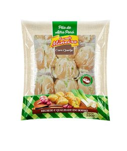 Pão de Alho Bolinha com Alho Poró - Segredo Mineiro