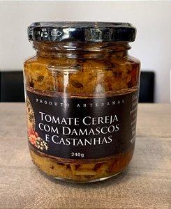 Antepasto de Tomate Cereja, Damasco e Castanha - Dona Mita