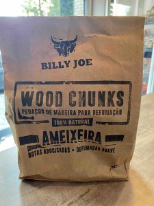 Wood Chunks Ameixeira - Billy Joe