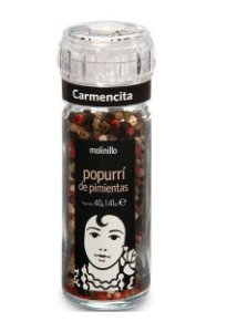 Mix De Pimentas Com Moedor 40grs -  Carmencita