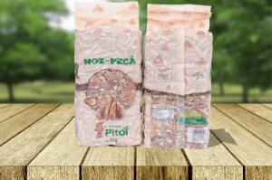 Nozes Pitol Quebradas Embaladas a Vácuo - 1 kg