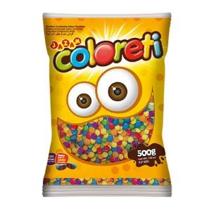 COLORETI CONFETE  MINI- 500G