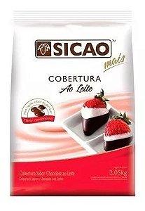 COBERTURA SICAO AO LEITE GOTAS 2,050 KG