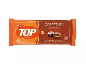 CHOCOLATE TOP AO LEITE BARRA 1,050 KG