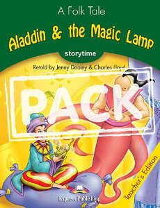 ALADDIN & THE MAGIC LAMP (STORYTIME - STAGE 3) TEACHER'S EDITION WITH CROSS-PLATFORM APP.