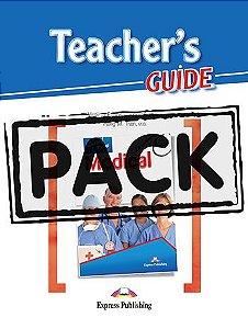 CAREER PATHS MEDICAL (ESP) TEACHER'S PACK (SB + TB + CDs & DIGIBOOK APP.)