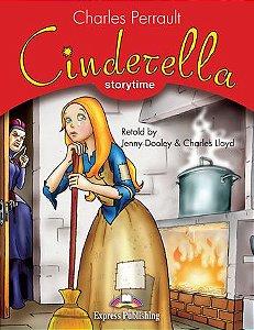 CINDERELLA (STORYTIME - STAGE 2) PUPIL'S BOOK WITH CROSS-PLATFORM APP.