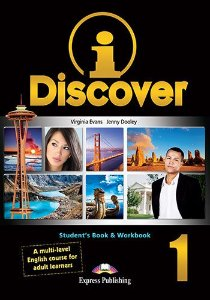 i-DISCOVER 1 STUDENT BOOK & WORKBOOK