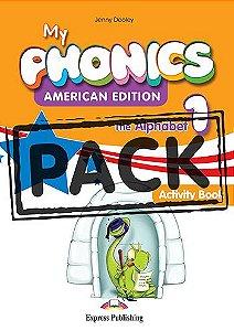 MY PHONICS 1 THE ALPHABET ACTIVITY BOOK (American Edition) WITH CROSS-PLATFORM APP.