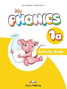 MY PHONICS 1a ACTIVITY BOOK (INTERNATIONAL) WITH CROSS-PLATFORM APP.