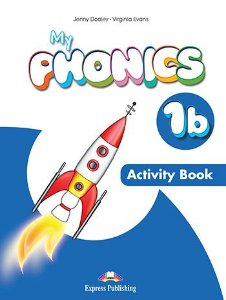MY PHONICS 1b ACTIVITY BOOK (INTERNATIONAL) WITH CROSS-PLATFORM APP.