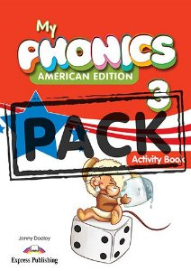 MY PHONICS 3 ACTIVITY BOOK (American Edition) WITH CROSS-PLATFORM APP.