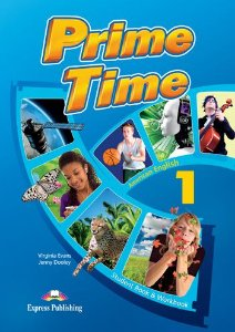 PRIME TIME 1 AMERICAN EDITION STUDENT BOOK & WORKBOOK (WITH DIGIBOOK APP)