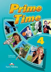 PRIME TIME 4 AMERICAN EDITION STUDENT BOOK & WORKBOOK (WITH DIGIBOOK APP)