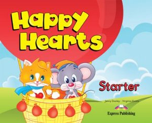 HAPPY HEARTS STARTER PUPIL'S BOOK (WITH STICKERS & PRESS OUTS)
