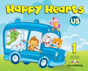 HAPPY HEARTS US 1 PUPIL'S BOOK (WITH STICKERS & PRESS OUTS)