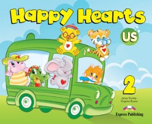 HAPPY HEARTS US 2 PUPIL'S BOOK (WITH STICKERS & PRESS OUTS)