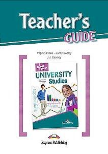 CAREER PATHS UNIVERSITY STUDIES (ESP) TEACHER'S GUIDE