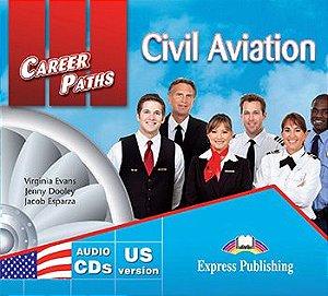 CAREER PATHS CIVIL AVIATION (ESP) AUDIO CDs (SET OF 2)