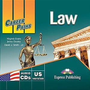 CAREER PATHS LAW (ESP) AUDIO CDs (SET OF 2)