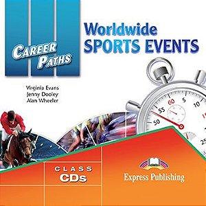 CAREER PATHS WORLDWIDE SPORTS EVENTS (ESP) AUDIO CDs (SET OF 2)
