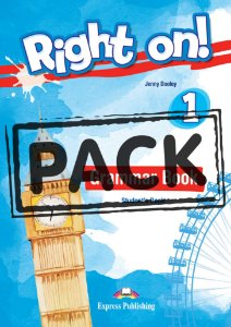 RIGHT ON! 1 GRAMMAR STUDENT'S BOOK (WITH DIGIBOOK APP) (INTERNATIONAL)