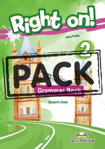 RIGHT ON! 2 GRAMMAR STUDENT'S BOOK (WITH DIGIBOOK APP) (INTERNATIONAL)
