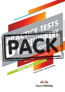 B1 PRELIMINARY FOR SCHOOLS PRACTICE TESTS TEACHER'S BOOK (WITH DIGIBOOK APP)