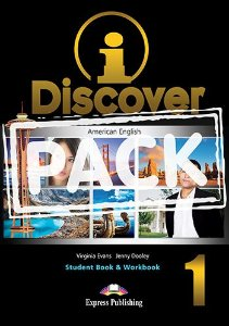 i-DISCOVER 1 STUDENT'S BOOK & WORKBOOK (WITH DIGIBOOKS APP)