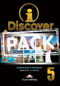 i-DISCOVER 5 STUDENT'S BOOK & WORKBOOK (WITH DIGIBOOKS APP)